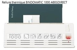 BINDOMATIC 1000 Reliure thermique