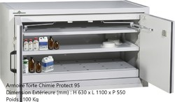 ARMOIRE FORTE CHIMIE PROTECT 95