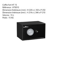 Coffre fort HT 15
