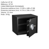 Coffre fort HT 30