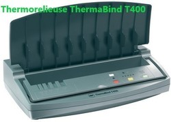 GBC Thermorelieuse Thermabind T400, argent/anthracite