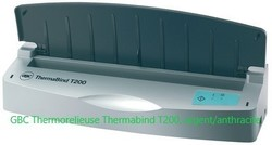 GBC THERMORELIEUR THERMABIND T200, ARGENT/ANTHRAC