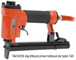 Agrafeuse pneumatique de type 140