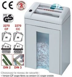 Destructeur IDEAL 2270 CC