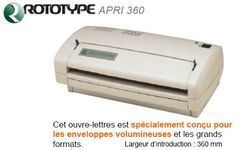 Ouvre-lettres ROTOTYPE APRI 360